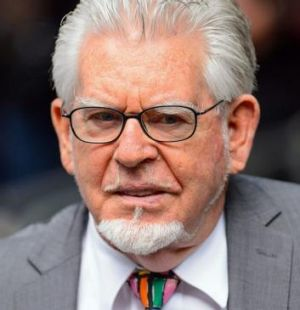 Rolf Harris on sentencing day in July 2014.