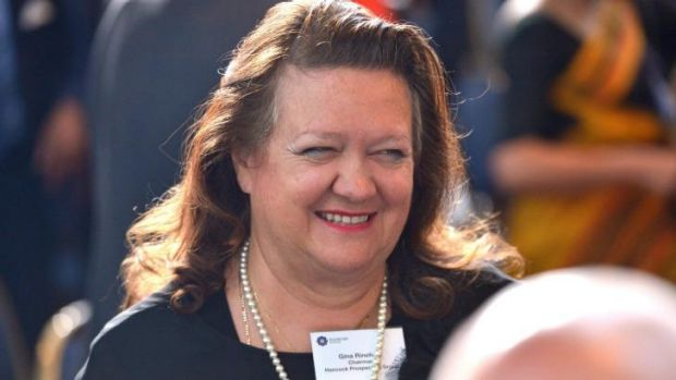 Gina Rinehart has reached a confidential settlement with Channel Nine.