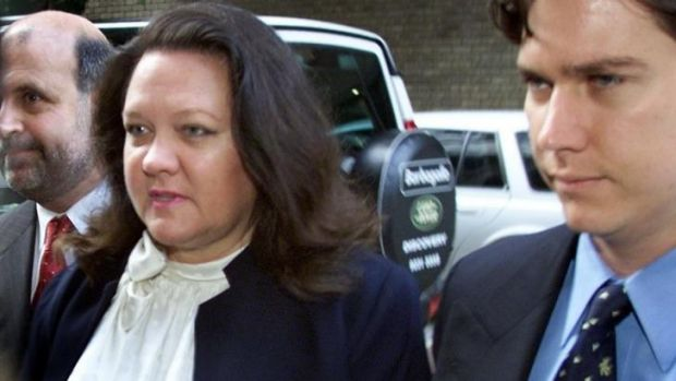 Gina Rinehart may have had a win over Channel Nine, but she is still set to sue.