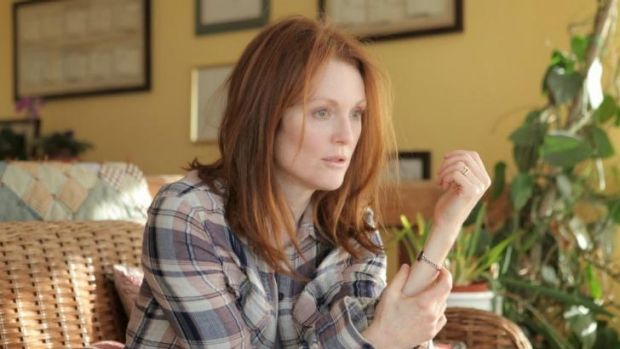 Julianne Moore captures the experience of early-onset dementia in the movie <i>Still Alice</i>.