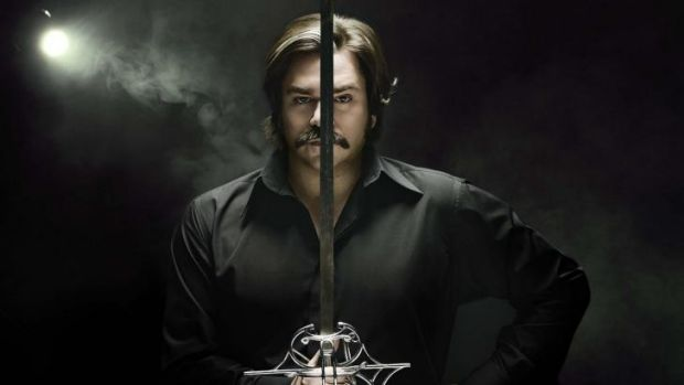 Washed up: Matt Berry wields his talents to great effect in <i>Toast of London</i>.
