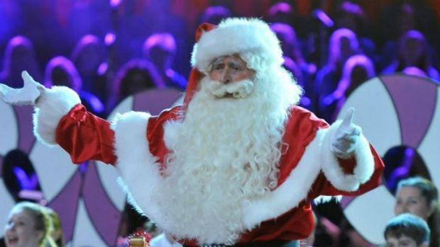 Terry Gill performed as Santa Claus in Carols by Candlelight for 27 years.