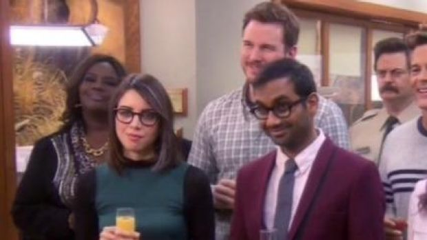 The <i>Parks and Recreation</i> gang say goodbye.