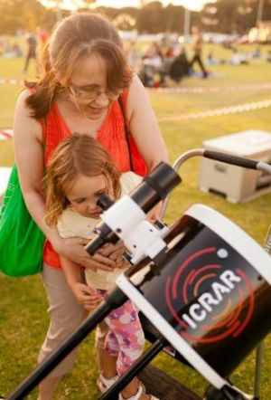 Participants will need to bring their own binoculars or telescope.