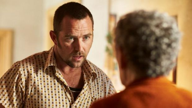 Sullivan Stapleton, seen here in the film  <i>Cut Snake</i>, has won a role in a US pilot called <i>Blindspot</i>.
