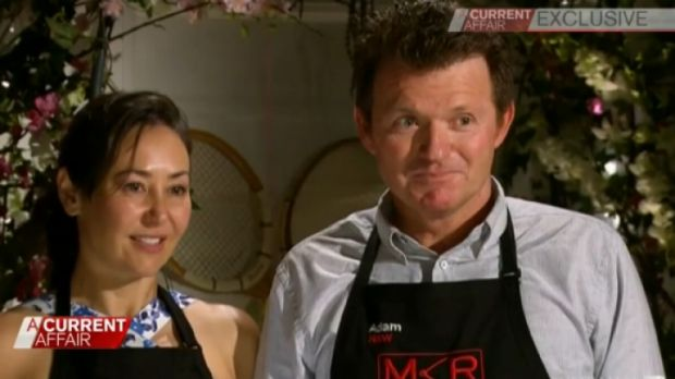 Carol Molloy and Adam Anderson on MKR.