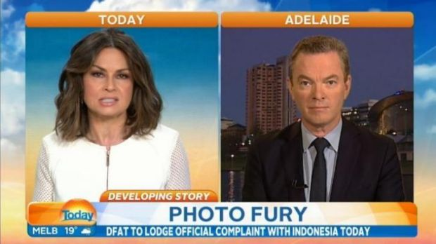 Lisa Wilkinson grilled Christopher Pyne over his explanations of the Indonesian government's behaviour towards the Bali ...