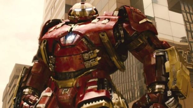 Did Iron Man gain some weight? New Avengers: Age of Ultron trailer gives fans more to feast on.