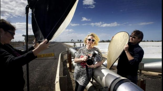 Bindi Cole Chocka has been selected as the inaugural artist-in-residence at the Western Treatment Plant in Werribee.