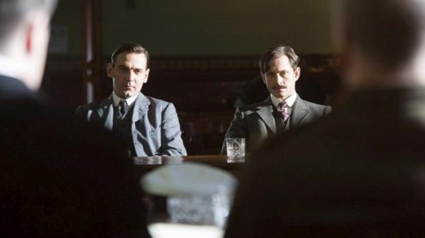 Ewan Leslie, Hugh Dancy in Deadline Gallipoli.