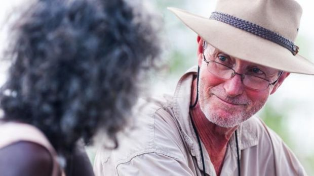 Extraordinary ... director Rolf de Heer on the set of <i>Charlie's Country</i>.