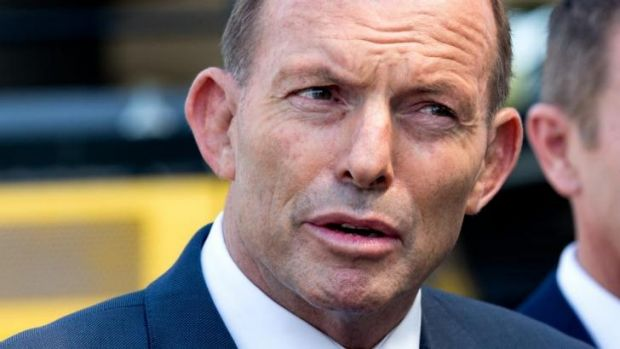 """Tony Abbott: his comments have been  branded """"offensive""""."""
