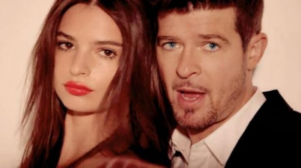 Almost half of Robin Thicke's Blurred lines profits will go to Marvin Gaye.