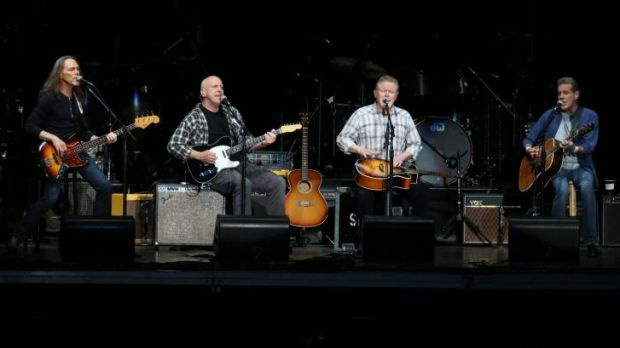 The Eagles play a concert at Hope Estate Pokolbin, in NSW, on the weekend.