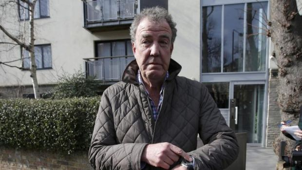 Suspended for altercation with Top Gear producer ... controversial television presenter Jeremy Clarkson.