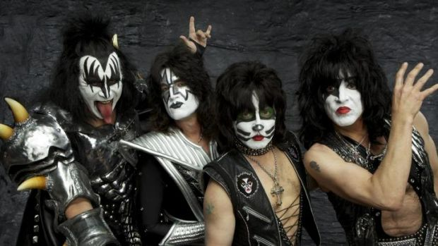 American rockers Kiss will open their Australian tour on October 3.
