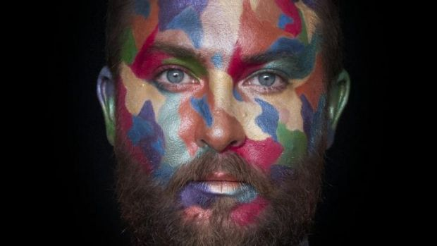 Liam Benson's <i>Ned Kelly Red Gum; hypercolour</i> 2014, C Type photograph. Image courtesy of the Artist and Artereal ...