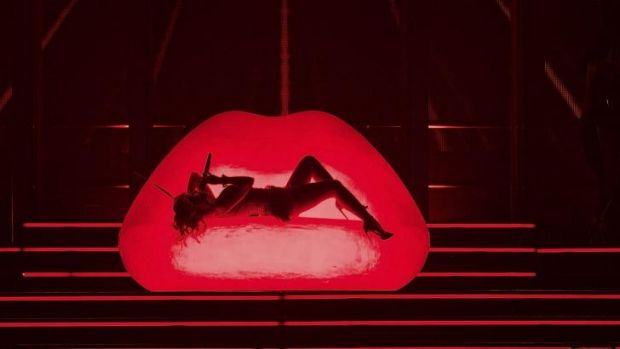 Kylie Minogue plays Adelaide next on the Kiss Me Once Tour.