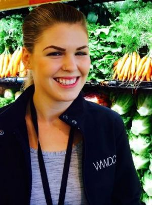 Belle Gibson, creator of the app The Whole Pantry