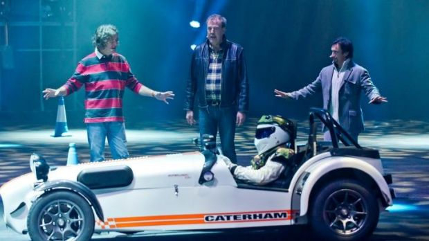 Dropped: BBC executives decided to cut the UK broadcast of <i>Top Gear</i> on Sunday.