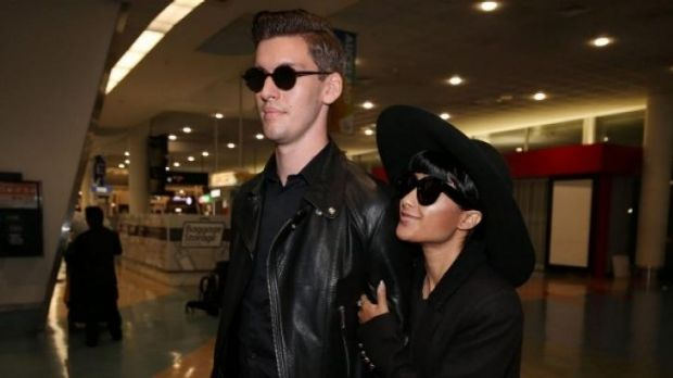 Former <i>X Factor</i> judges Willy Moon and Natalia Kills were spotted at Auckland International Airport late on ...
