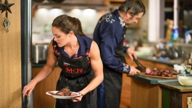 Cowboy Robert and his daughter Lynzey have become favourite staples of viewers' <i>MKR</i> diet.