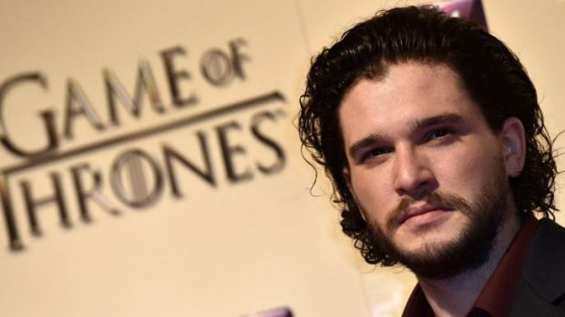 Kit Harrington arrives for the world premiere of <i>Game of Thrones</i> series 5, at The Tower of London.