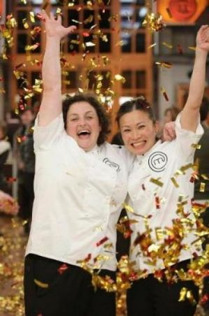 Julie Goodwin (left), symbolising tradition, may have won MasterChef in 2009, but runner-up Poh Ling Yeow stood for an ...