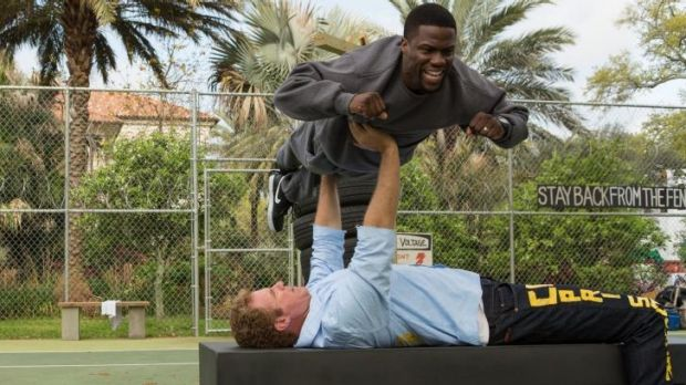 It's impossible to draw the line between homoeroticism and good clean fun in <i>Get Hard</i>, starring Will Ferrell and ...