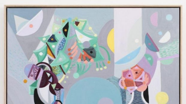 Yvette Coppersmith's work is showing at Tristian Koenig.