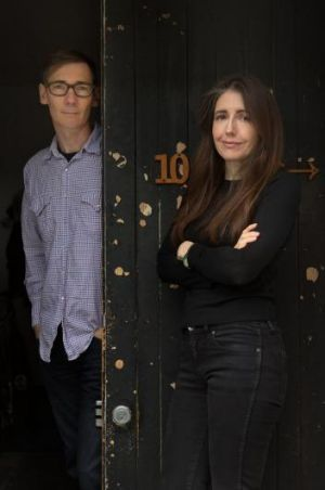 Artists Patricia Piccinini and Peter hennessey who are working on collaborative work for first time after strong ...