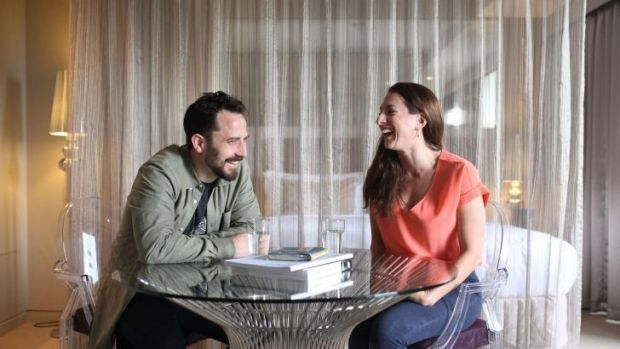 <i>Timeshare</i> director Oliver Butler and playwright Lally Katz make the most of their creative time.