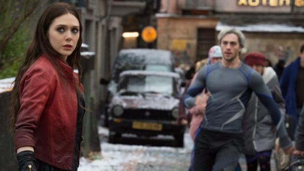 Scarlet Witch/Wanda Maximoff (Elizabeth Olsen) and Quicksilver/Pietro Maximoff (Aaron Taylor-Johnson) are the most ...