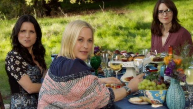 The <i>Inside Amy Schumer</i> sketch featuring Tina Fey, Julia Louis-Dreyfus and Patricia Arquette suggests use-by dates ...