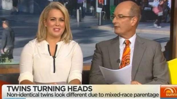 No offence ... Lucy Aylmer has defended Sam Armytage over race bias suggestions.