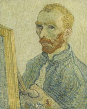 Anonymous, Portrait of Vincent van Gogh, 1925/1928, oil on canvas, 59.4 x 47.5cm, Chester Dale Collection, National ...