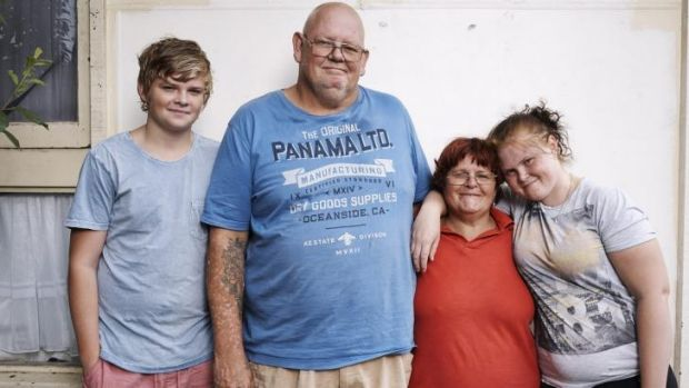 Some of the residents featured on the SBS show <i>Struggle Street</i>.