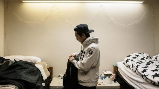 Roy Kim In His Dormitory Room On The Georgetown University Campus. Part 76