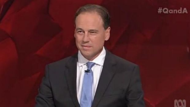 Environment Minister Greg Hunt traded barbs with his Labor counterpart Mark Butler over climate change.