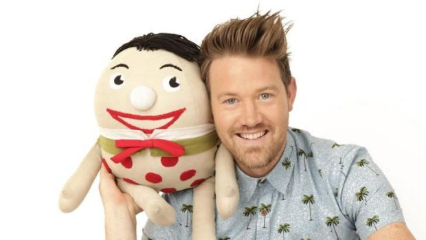 New <I>Play School</I> host Eddie Perfect wants the show to foster imagination and kindness.