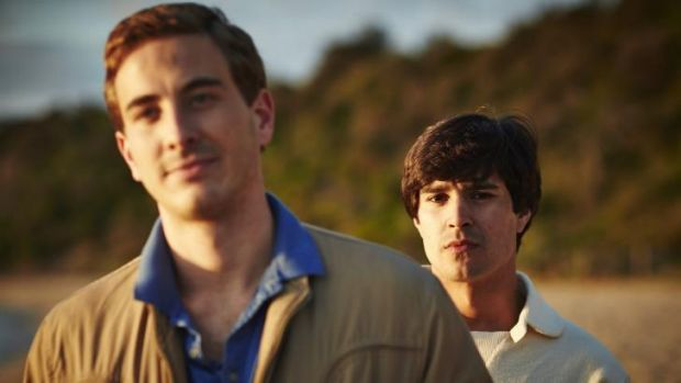 <i>Holding The Man</i> stars  Ryan Corr (left) and Craig Stott.