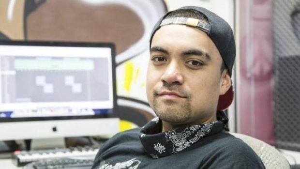 Fresh spin: DJ Zehrish Naera is one of those trying to put Mount Druitt in a more positive light.