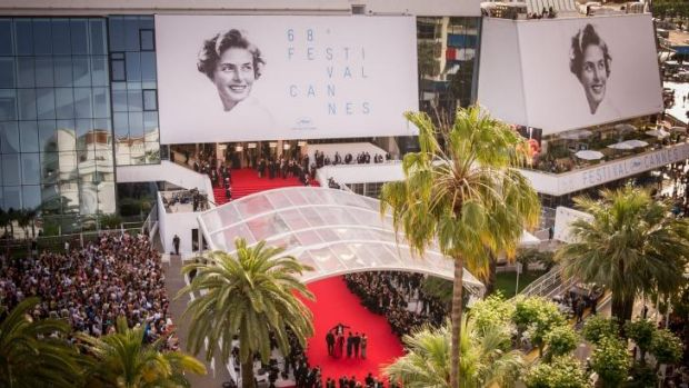 Ingrid Bergman was the face of the Cannes Film Festival.