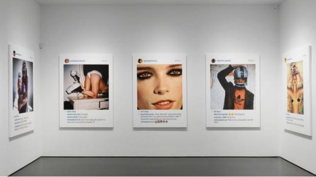 Instagram as art: Images from Richard Prince's latest exhibition.