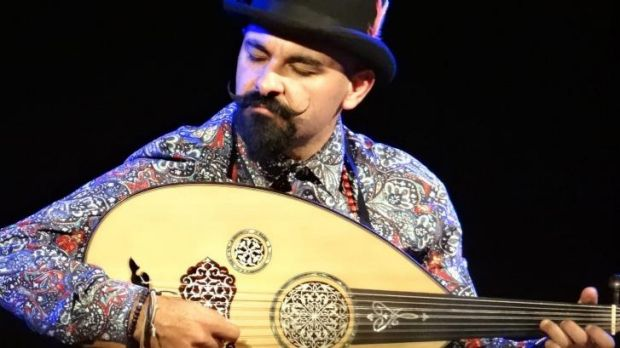 Joseph Tawadros and his oud.