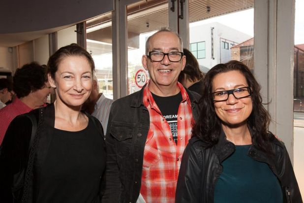 Peta Kalaizis, Richard Sowada and Donna Czek. Photo: Anthony Tran