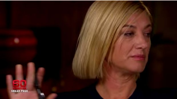 Fed up: <i>60 Minutes</i> reporter Tara Brown refuses to hear Belle Gibson's excuses.