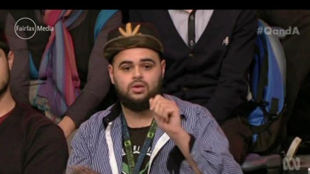 Zaky Mallah had tweeted misogynistic messages about 'gangbanging' two female journalists before appearing on <i>Q&A</i> ...