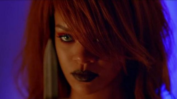 Rihanna is not to be crossed in the new video for <i>Bitch Better Have My Money</i>.