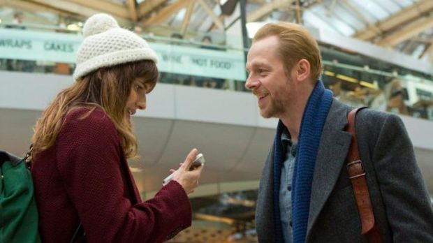 Lake Bell and Simon Pegg play singles looking for love in <i>Man Up</i>.
